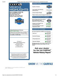 2012 Honda Civic EX Naugatuck, Connecticut 1