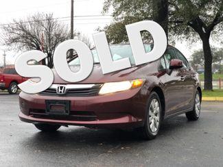 2012 Honda Civic LX in San Antonio, TX 78233