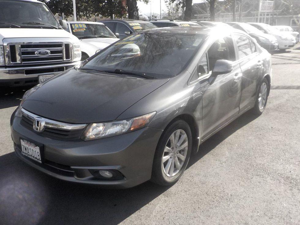 Honda San Jose >> 2012 Honda Civic Ex L San Jose Ca Express Credit Motors