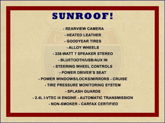 2012 Honda CR-V EX-L FWD - SUNROOF - HEATED LEATHER! Mooresville , NC 1