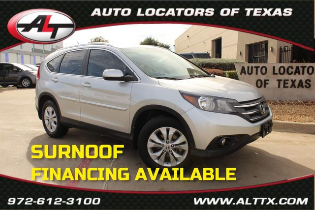 2012 Honda CR-V EX-L with NAVIGATION in Plano, TX 75093