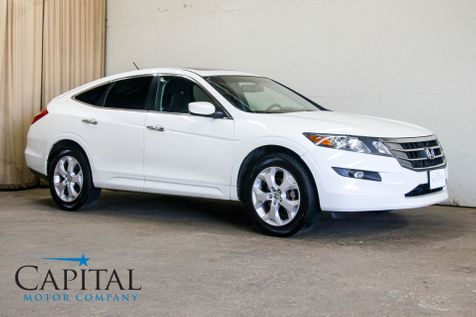 2012 Honda Crosstour EX-L AWD Crossover w/Backup Cam, Heated Seats, Moonroof, Bluetooth Hands-Free, 18