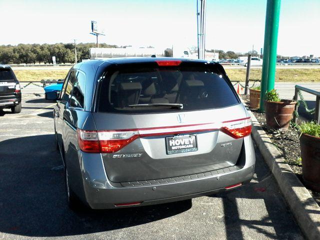 2012 Honda Odyssey Touring Boerne, Texas 4