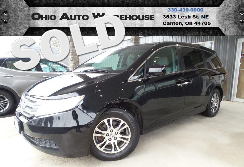 2012 Honda Odyssey EX-L Tv/DVD Leather 1-Own Cln Carfax We Finance   Canton, Ohio   Ohio Auto Warehouse LLC in Canton Ohio