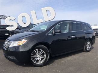 2012 Honda Odyssey EX-L Navi Sunroof Leather 3rd Row V6 We Finance | Canton, Ohio | Ohio Auto Warehouse LLC in Canton Ohio