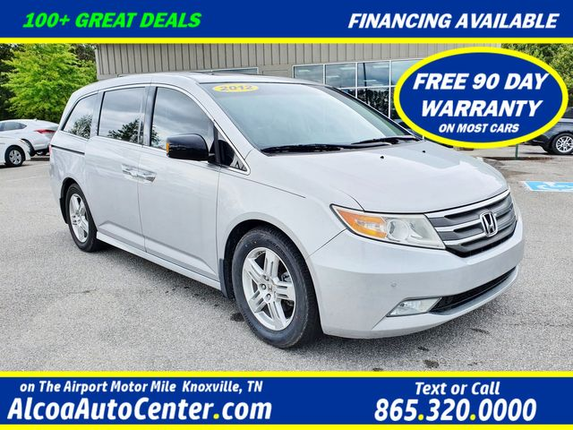 2012 Honda Odyssey Touring Elite w/DVD/Leather/Sunroof