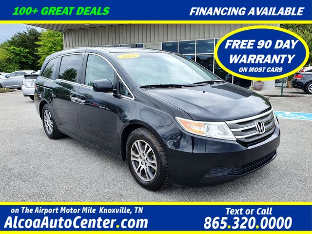 2012 Honda Odyssey EX-L DVD/Leather/Sunroof 8-Passangers