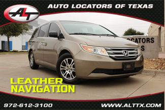 2012 Honda Odyssey EX-L with NAVIGATION in Plano, TX 75093