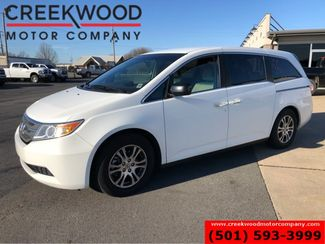 2012 Honda Odyssey EX White 1 Owner New Tires Cloth Tv Dvd Low Miles in Searcy, AR 72143