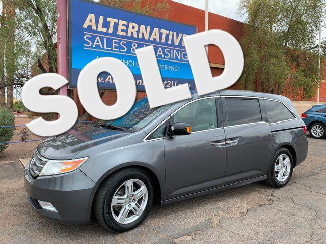 2012 Honda Odyssey Touring Elite 3 MONTH/3,000 MILE NATIONAL POWERTRAIN WARRANTY Mesa, Arizona