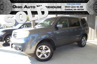 2012 Honda Pilot EX-L 4x4 Tv/DVD Leather Sunroof 3rd Row We Finance | Canton, Ohio | Ohio Auto Warehouse LLC in Canton Ohio