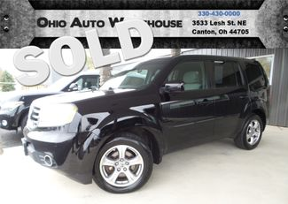 2012 Honda Pilot EX 4x4 3rd Row Clean Carfax We Finance | Canton, Ohio | Ohio Auto Warehouse LLC in Canton Ohio
