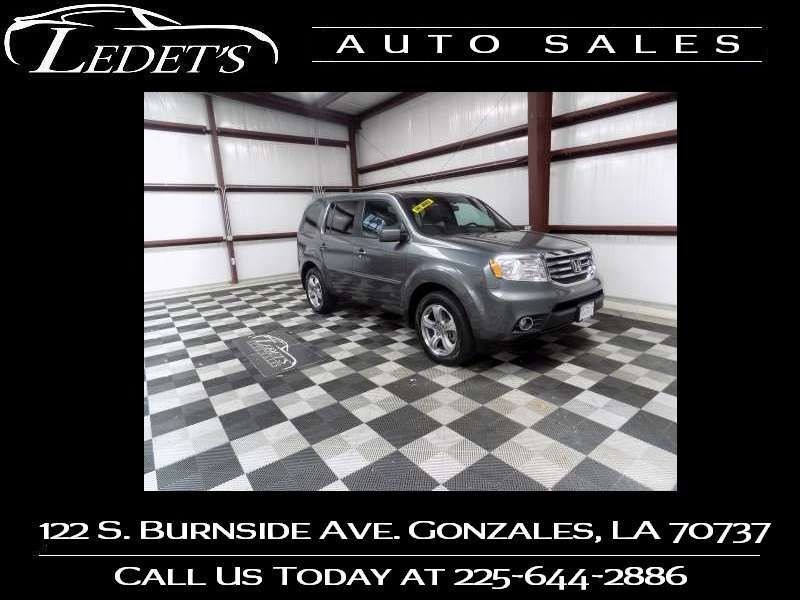 2012 Honda Pilot EX-L - Ledet's Auto Sales Gonzales_state_zip in Gonzales Louisiana