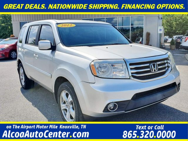 "2012 Honda Pilot EX-L 4WD Leather/ Sunroof/18"" Alloys"