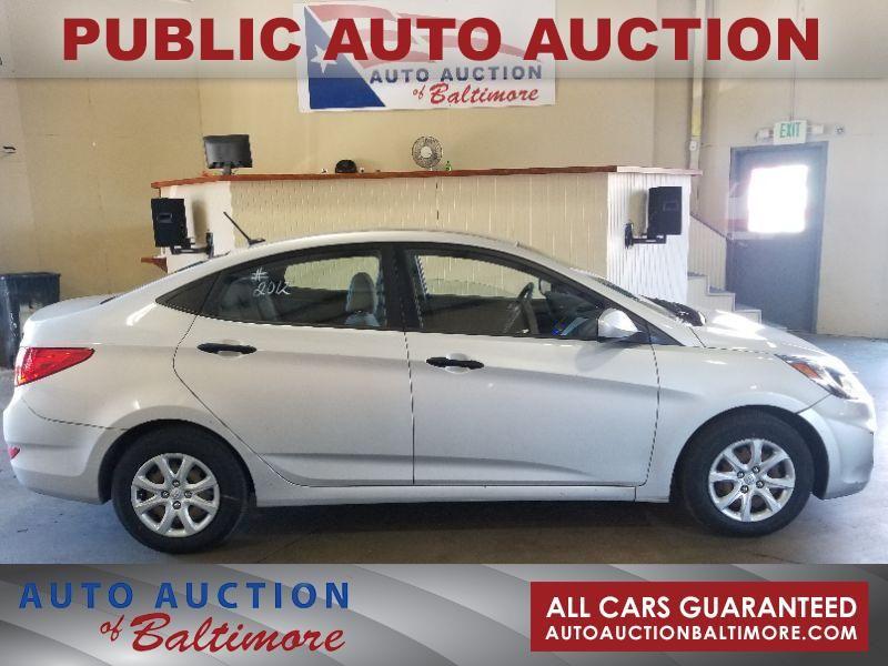 2012 Hyundai Accent GLS   JOPPA, MD   Auto Auction of Baltimore  in JOPPA MD