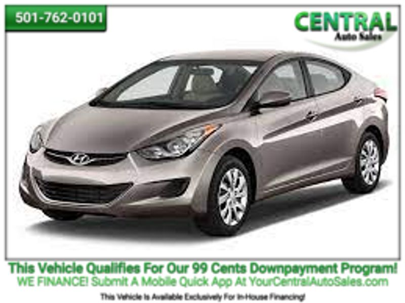 2012 Hyundai Elantra GLS   Hot Springs, AR   Central Auto Sales in Hot Springs AR