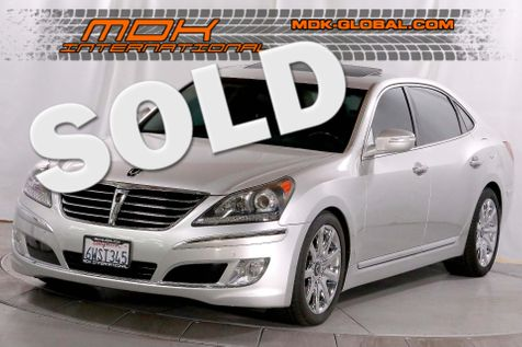 2012 Hyundai Equus Ultimate - Power rear seats - DVD - Cooled seats in Los Angeles