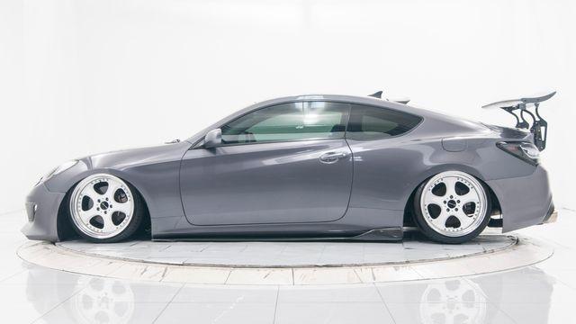 2012 Hyundai Genesis Coupe 2.0T Bagged with Many Upgrades in Dallas, TX 75229