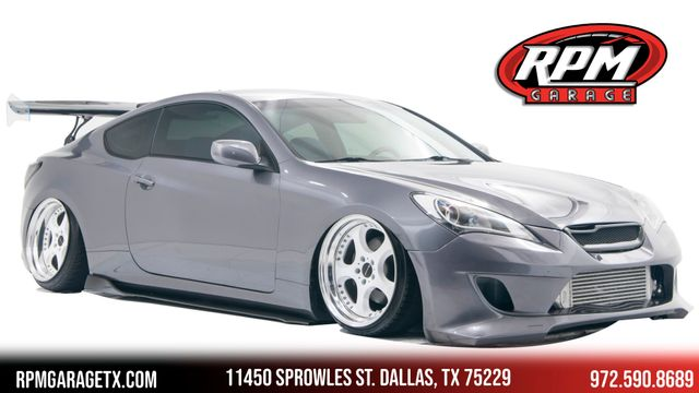 2012 Hyundai Genesis Coupe 2.0T Bagged with Many Upgrades