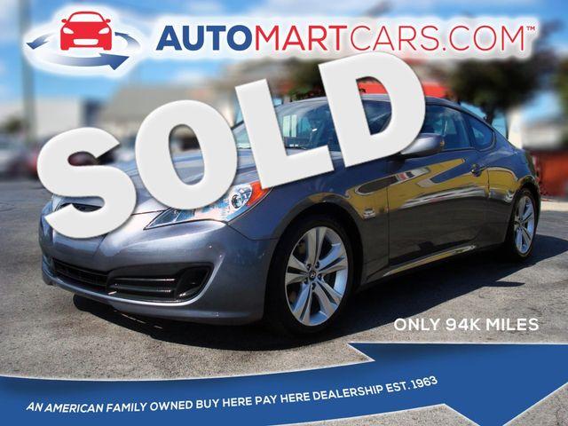 2012 Hyundai Genesis Coupe 2.0T | Nashville, Tennessee | Auto Mart Used Cars Inc. in Nashville Tennessee