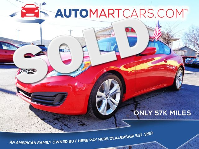 2012 Hyundai Genesis Coupe 2.0T Premium | Nashville, Tennessee | Auto Mart Used Cars Inc. in Nashville Tennessee