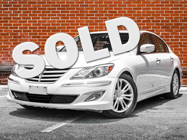 2012 Hyundai Genesis Premium/Technology 3.8L Burbank, CA 0