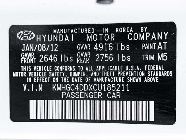2012 Hyundai Genesis Premium/Technology 3.8L Burbank, CA 30