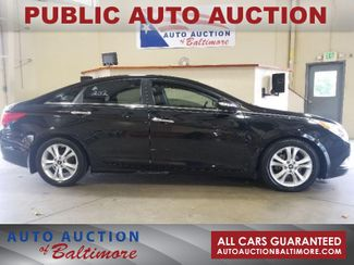 2012 Hyundai Sonata 2.4L Limited PZEV w/Wine Int   JOPPA, MD   Auto Auction of Baltimore  in Joppa MD