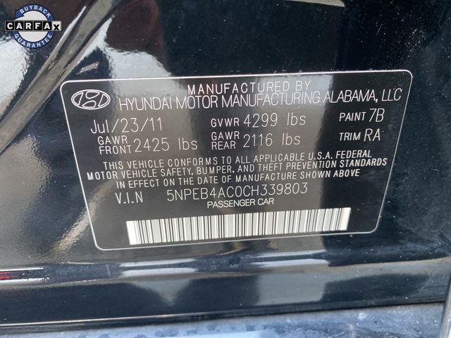 2012 Hyundai Sonata GLS PZEV Madison, NC 34