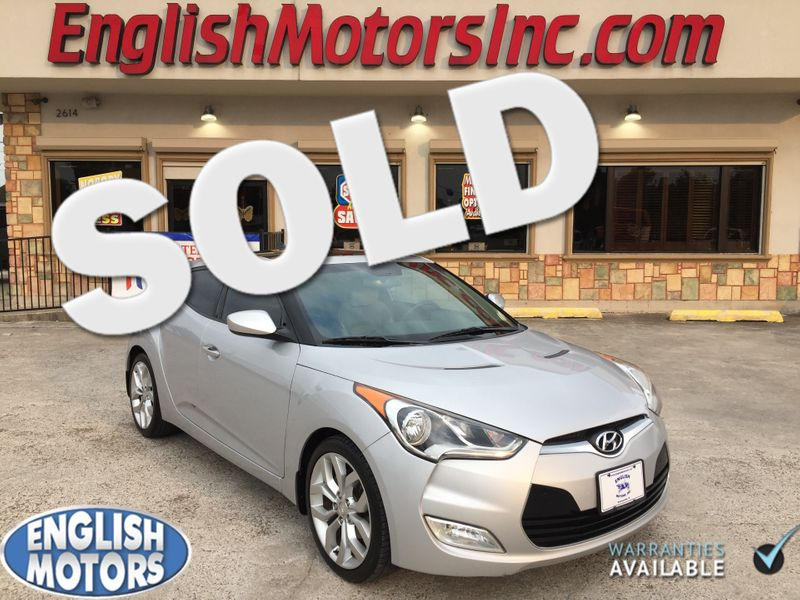 2012 Hyundai Veloster wGray Int  Brownsville TX  English Motors  in Brownsville, TX