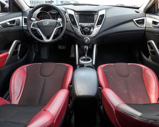 2012 Hyundai Veloster w/Red Int Burbank, CA 13