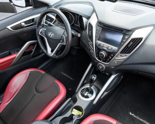 2012 Hyundai Veloster w/Red Int Burbank, CA 14