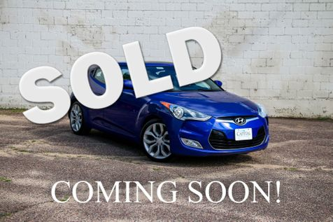 2012 Hyundai Veloster Hatchback with Style Package, Panoramic Moonroof, Dimensions Sound System & 18-Inch Wheels in Eau Claire