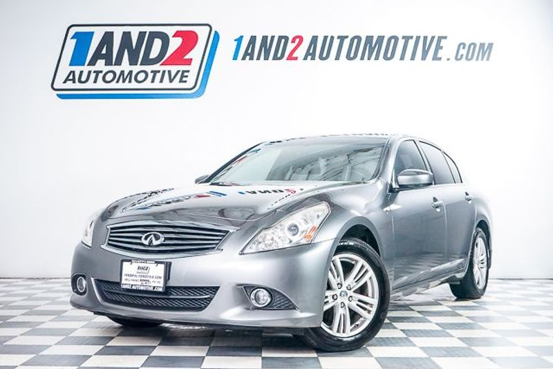 2012 Infiniti G25 Sedan x in Dallas TX