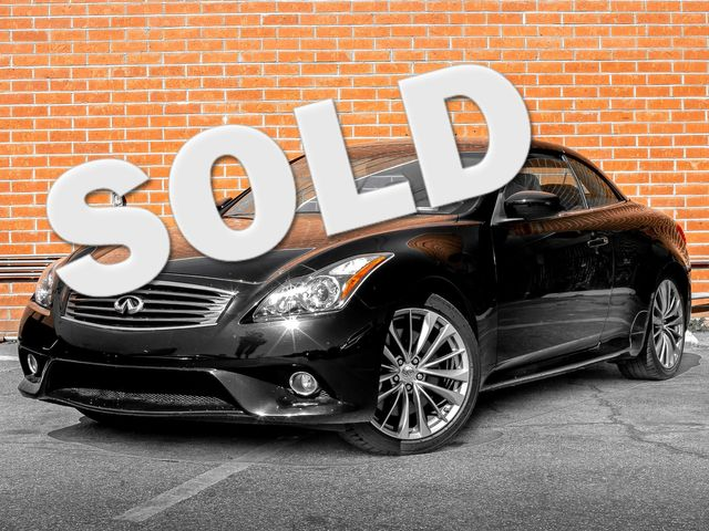 2012 Infiniti G37 Convertible Base Burbank, CA 0