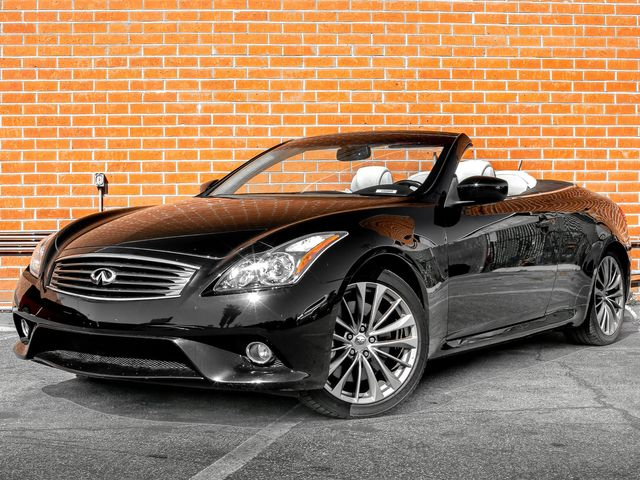 2012 Infiniti G37 Convertible Base Burbank, CA 1