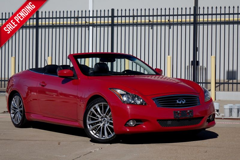 2012 Infiniti G37 Convertible Base*Nav*BU Cam*Only 87k mi*EZ Finance** | Plano, TX | Carrick's Autos in Plano TX