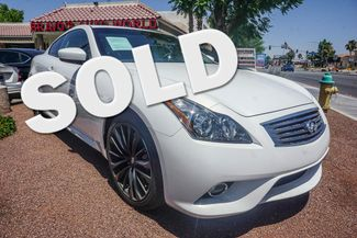 2012 Infiniti G37 Coupe in Cathedral City, California