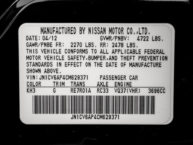 2012 Infiniti G37 Sedan Journey Burbank, CA 29