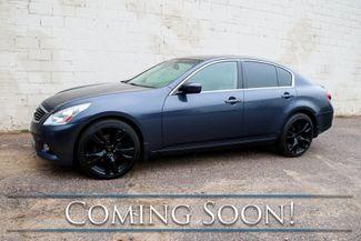 "2012 Infiniti G37x All-Wheel Drive Sport Sedan w/Nav, Backup Cam, Heated Seats, Moonroof & 20"" Wheels in Eau Claire, Wisconsin 54703"