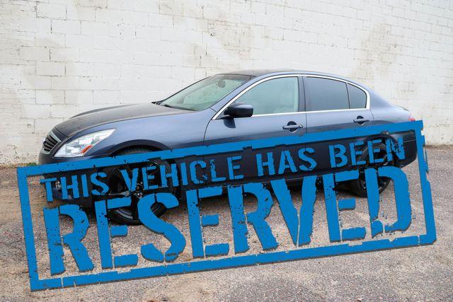 "2012 Infiniti G37x All-Wheel Drive Sport Sedan w/Nav, Backup Cam, Heated Seats, Moonroof & 20"" Wheels"