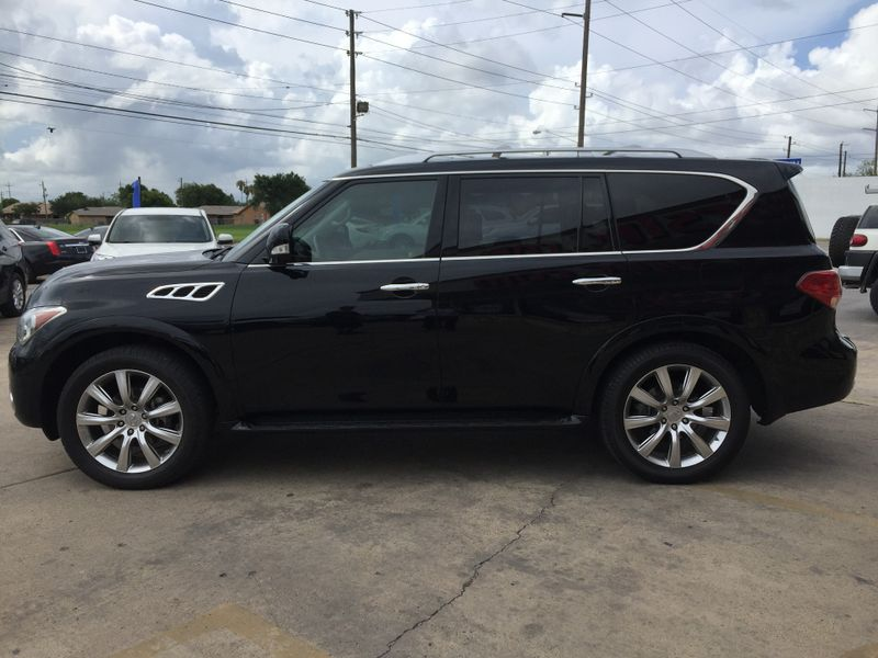 2012 Infiniti QX56 7-passenger  Brownsville TX  English Motors  in Brownsville, TX