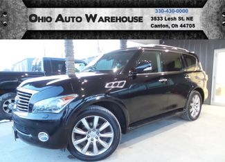 2012 Infiniti QX56 Base 4x4 Navi Tv/DVD Sunroof 3rd Row We Finance | Canton, Ohio | Ohio Auto Warehouse LLC in Canton Ohio