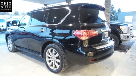 2012 Infiniti QX56 4x4 Navigation Tv/DVD Sunroof 3rd Row We Finance | Canton, Ohio | Ohio Auto Warehouse LLC in Canton, Ohio