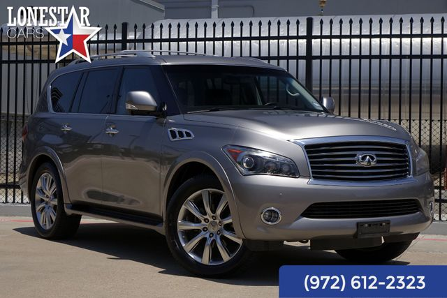 2012 Infiniti QX56 Theater Package Heated Seats