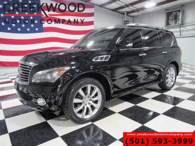 2012 Infiniti QX56 Luxury Touring 4x4 Black Nav Roof Tv 22s New Tires in Searcy, AR 72143