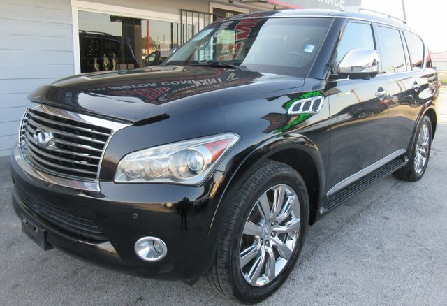 2012 Infiniti QX56 7-passenger south houston, TX 1