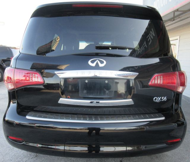 2012 Infiniti QX56 7-passenger south houston, TX 3