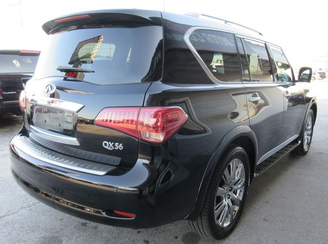 2012 Infiniti QX56 7-passenger south houston, TX 4
