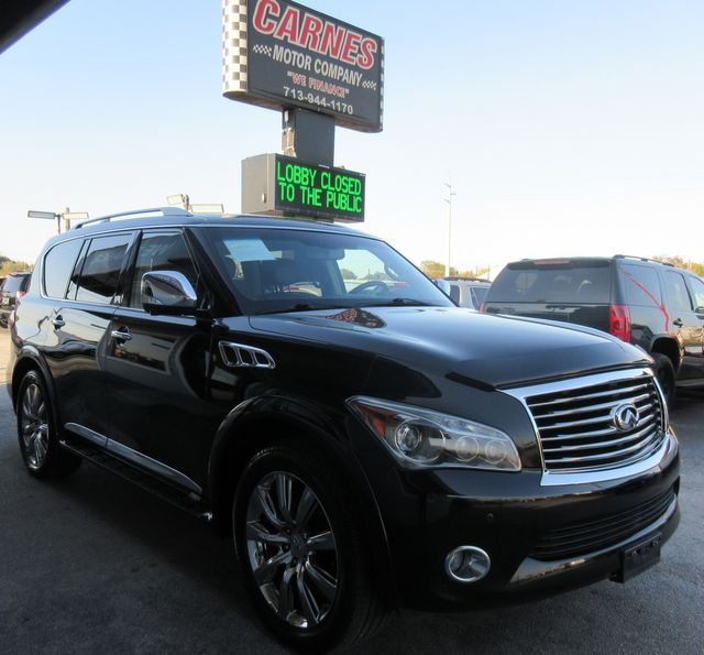 2012 Infiniti QX56 7-passenger south houston, TX 5